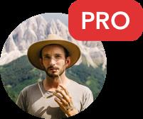 PRO badge
